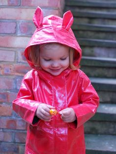 cutest raincoat ever. well, top 5.