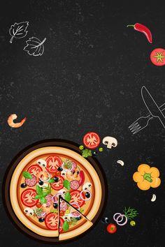 Deliciosa Pizza Com Imagem Hd Western Pizza Flyer, Pizza Menu, Pizza Party, Pizza Logo, Restaurant Poster, Restaurant Recipes, Pizza Sale, Comida Pizza, Pizza Background