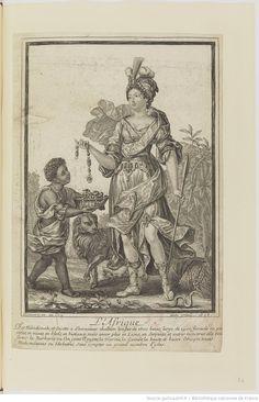 L'Afrique par Henri Bonnart 1696