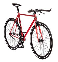"""Madrid Single Speed Fixed Gear Road Bike Size: Small 52cm - 5'2"""" to 5'7"""""""