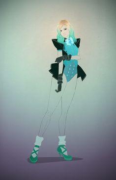 Modern Sailor Neptune by Abraham Cruz.