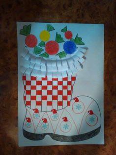 Ghetuță pentru Moș Nicolae Saint Nicholas, Techno, Kindergarten, Santa, School, Christmas, Crafts, Craft, Christmas Decor