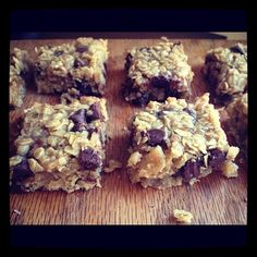 Chunky Monkey Snack Bars [Healthy, Desserts, Snacks, Vegetarian, Vegan, Wheat-free]