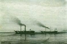 """Взятие приза """"Мерсина"""" в 1878 году. 1878 - Боголюбов Алексей Петрович"""
