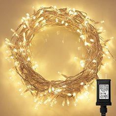 200 LED Indoor Fairy Lights w/ Remote & Timer on 36ft Clear String (8 Modes, Dimmable, Low Voltage Plug, Warm White) Koopower http://www.amazon.com/dp/B01712Y01Y/ref=cm_sw_r_pi_dp_XQvqwb04ZSS2W