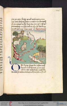 Cod. Pal. germ. 466 Antonius  Buch der Beispiele der alten Weisen Oberschwaben, um 1475