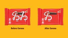 Campaign: Before and after  Brand: Elite / Kit kat (Keef-Kef)  Advertiser: Strauss Group  Agency: BBR Saatchi & Saatchi  Country: Israel  Date: March 2020  Media: Billboard/OOH/Print