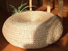 Ikea futon trança de palha almofada esteiras banquinho-inCushion from Home  Garden em Aliexpress.com $17,31