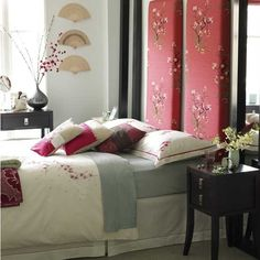 Oriental Themed Bedroom   Google Search | Chinese Bedroom | Pinterest |  Master Bedrooms, Accent Walls And Red