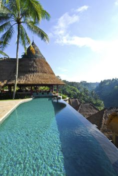 Viceroy Bali offers 25 luxurious villas in the highlands of Ubud with private pools and spectacular views over Petanu River gorge and tropical forests. #WorldsBestHotels2014