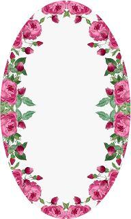 free printable vintage rose tags & digital rose journaling card png's – ausdruckbare Etiketten mit Vintage Rosen | MeinLilaPark – digital freebies