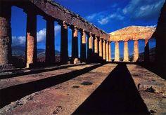 Segesta temple, Segesta, Sicily - Sunset