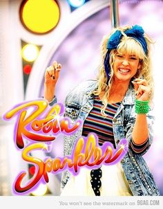 Robin Sparkles!!!