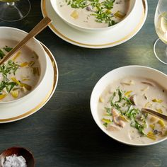 Cream of Wild Mushroom Soup By Ina Garten