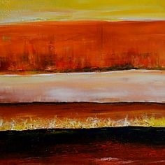 sunset desert painting #artwork