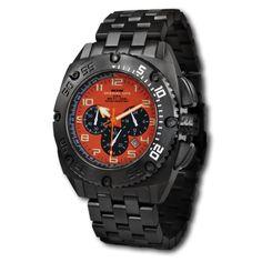 Titanium Black Patriot With Orange Dial