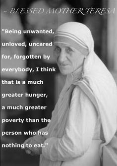 quotes from Mother Teresa. Discover Mother Teresa famous and rare quotes. A Nobel Peace Prize laureate, Mother Teresa devoted her life to the poor, the sick, the abandoned and the dying in countries around the world. Catholic Quotes, Catholic Prayers, Catholic Saints, Catholic Beliefs, Christianity, Holy Mary, Friedrich Nietzsche, Mother Theresa Quotes, Saint Teresa Of Calcutta