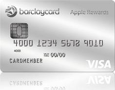 Barclaycard Visa<sup>®</sup> with Apple Rewards Card