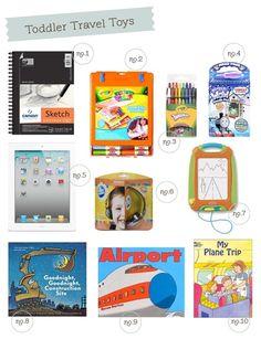 Best Infant/toddler travel toys