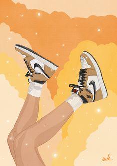 Jordan Painting, Disney Pop Art, Abstract Face Art, Comic Art Girls, Hippie Painting, Sneaker Art, Ipad Art, Arte Pop, Diy Canvas Art