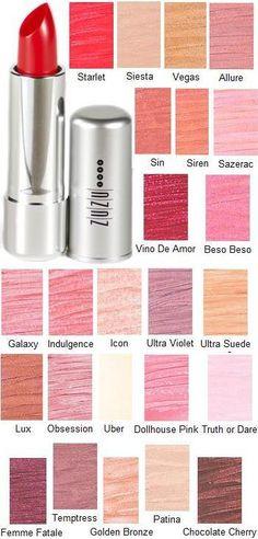 Zuzu Luxe Lipstick in Dollhouse pink for that 60's sex kitten look :)