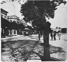 Centro de Niterói entre os anos de 1910 e 1920 com prédio dos correios podendo ser visto ao fundo  Colaboração e pesquisa de FABIO RANGEL