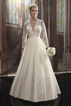 Gown by Mary's Bridal