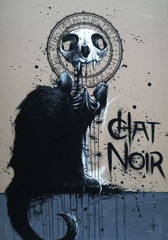 not sure what i really think of this. kinda cool but don't really like the idea of decomposing chat noir