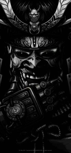 Yakuza Tattoo, Samurai Warrior Tattoo, Oni Samurai, Urban Samurai, Japanese Art Samurai, Japanese Demon Tattoo, Koi Dragon Tattoo, Samurai Wallpaper, Backgrounds