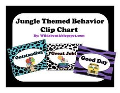 Get your classroom management off on the right foot this year with this adorable jungle clip chart!  It is very colorful, and has great graphics fr...
