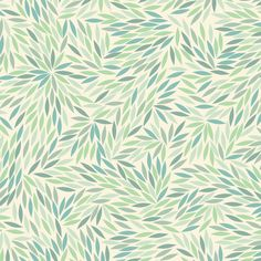 Seedling by Mae.  Could go in our dusty blue master bedroom, or the more sea-glass green rooms (kitchen, studio).