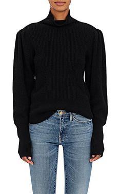 FRAME Voluminous Wool-Cashmere Sweater - Sweaters - 505454047