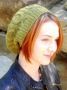 Brambles beret: Knitty Deep Fall 2010