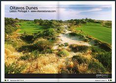 Portugal Golf Courses - Algarve,Lisbon, Porto & North, Madeira and Azores islands Ireland Golf Courses, Dune, Travel Around The World, Around The Worlds, Portugal, Golf Holidays, Golf Magazine, Golf Lessons, Algarve