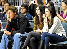 Bruce, Kendall and Kylie Jenner