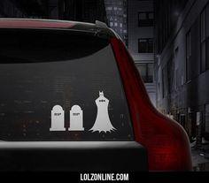 If Batman Had Family Car Stickers#funny #lol #lolzonline