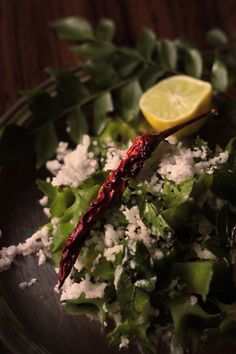 Indian Winged bean Salad with Fresh Coconut