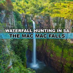 Waterfall hunting in South Africa is a perfect way to plan an off the beaten track holiday - The Mac Mac Falls Amazing Photography, South Africa, Waterfall, Hunting, Coast, Mac, Around The Worlds, Adventure, How To Plan