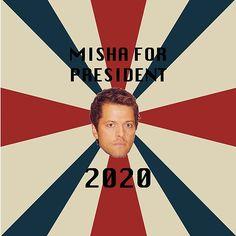 Misha Collins for President 2020