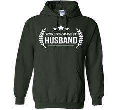 Men's World's Okayest Husband T-shirt Funny PREMIUM Valentine day