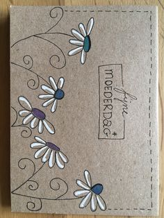 Creative and great menu The Effective Pictures We Offer You About simple Handmade Gifts A quality picture can tell you … Doodle Art, Mail Art Envelopes, Paper Art, Paper Crafts, Fabric Crafts, Fabric Stamping, Envelope Art, Flower Doodles, Watercolor Cards