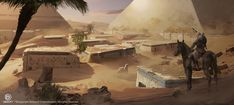 ArtStation - Assassin's Creed Origins, Eddie Bennun