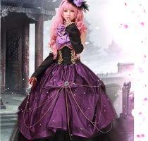 Hatsune Miku cosplay VOCALOID Megurine Luka costumes
