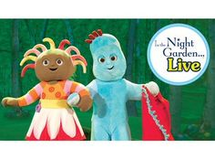 Step into the magical world of In the Night Garden and see Igglepiggle, Upsy Daisy and Makka Pakka brought to life in Igglepiggle's Busy Day Night Garden, Pantomime, Garden Living, Smurfs, Entertaining, Live, Fictional Characters, Art, Art Background