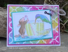 House Mouse 'Share A Sip'
