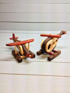 Le paquet de vol fait de bois naturels par PedalWoods sur Etsy