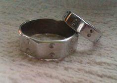 Aluminum rings sizes - 14 & 7. $12.00, via Etsy.