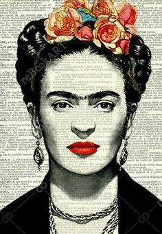 Frida Kahlo Zeitschrift - Frida Kahlo Zeitschrift La mejor imagen sobre Populares sayings para tu gusto Estás buscando algo - Diego Rivera, Fridah Kahlo, Frida Kahlo Portraits, Frida Kahlo Prints, Frida Kahlo Artwork, Frida Art, Oeuvre D'art, Art Inspo, Printing On Fabric