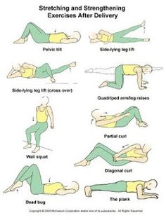Post Natal exercise & food tips for losing that mummy tummy!