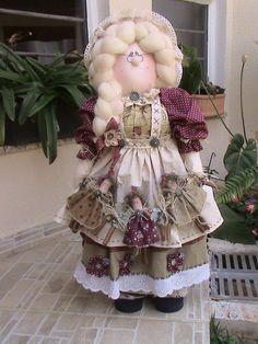 Лоскутные куклы